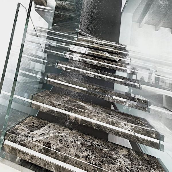 Pulidos Jorba - Rebajar, pulir y abrillantar escaleras de mármol y terrazo.